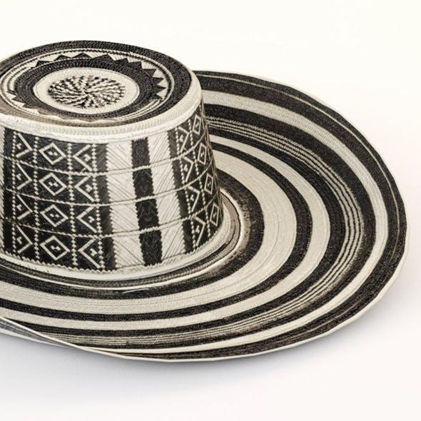 5354b2f6135 Hat Colombia Sombrero Vueltiao - Columbia - 3DOcean Item for Sale