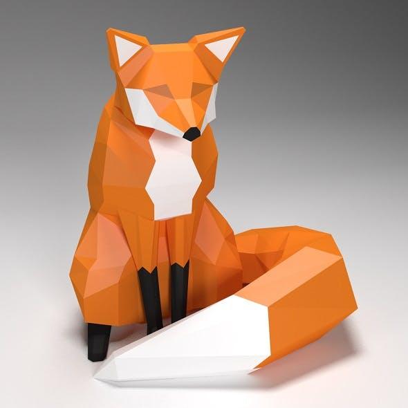 fox low poly style by JackDalas | 3DOcean