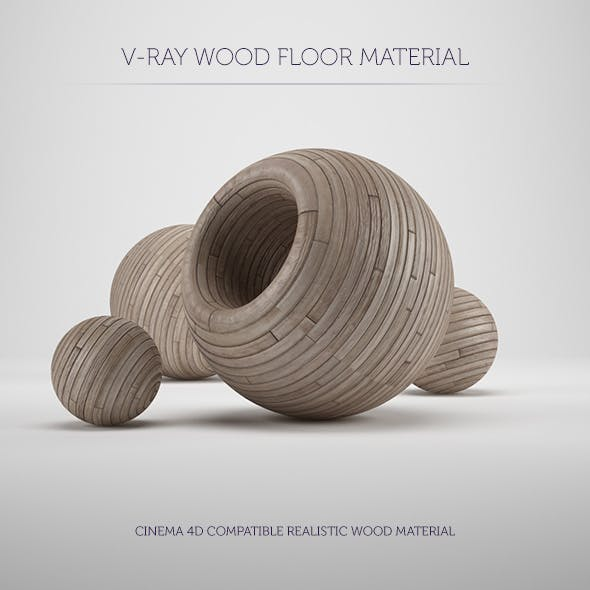 C4D V-Ray Wood Floor Material by kapor | 3DOcean