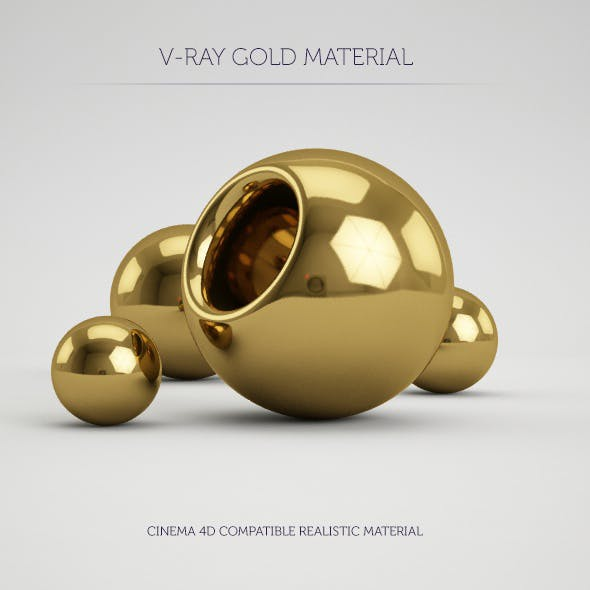 Cinema 4d Gold Material