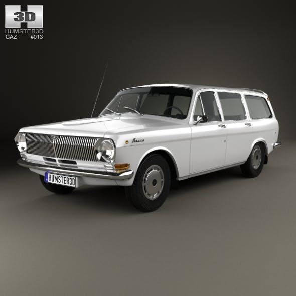 GAZ 24 Volga combi 1967 by humster3d | 3DOcean