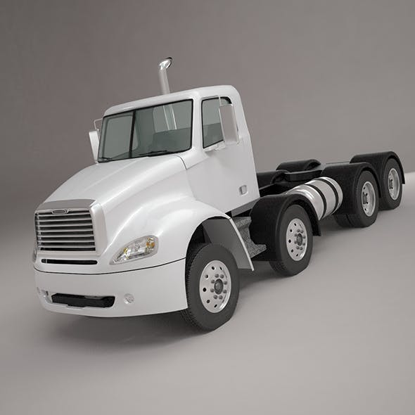 Freightliner Columbia base 4-Axle 2017 by Art_good_format