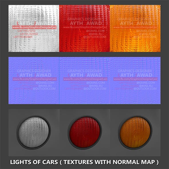 Lights of cars ( Textures with normal map ) by LaythJawad ... on roof rack for cars, sunglasses holder for cars, cruise control for cars, luggage rack for cars, door handles for cars, xenon bulbs for cars,