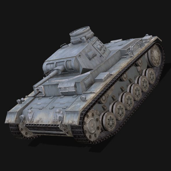Panzer 3 by Dominos3D | 3DOcean