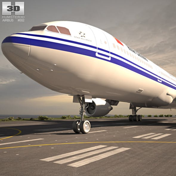 Airbus A330-300 by humster3d | 3DOcean