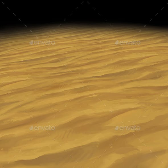 Sand Texture Tile 1 Hand Painted By Polytopia 3docean