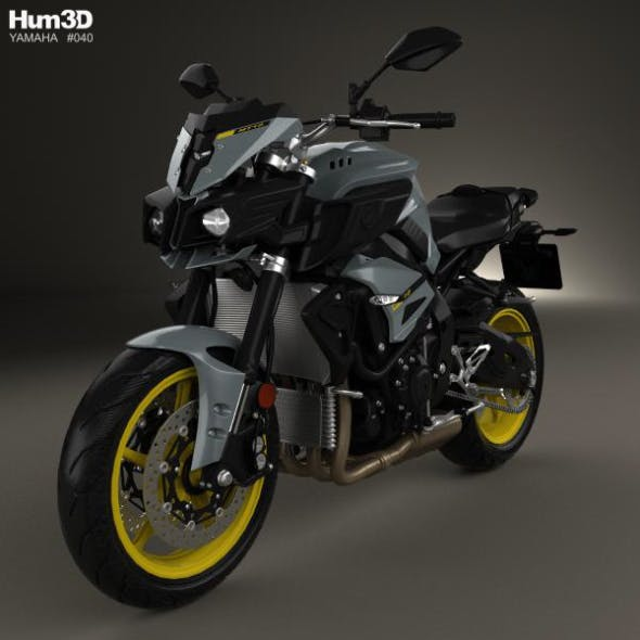 Yamaha MT-10 2016 by humster3d   3DOcean
