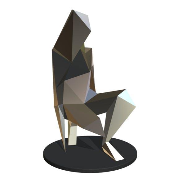 c5e2e2cb7 Girl sculpture - 3DOcean Item for Sale