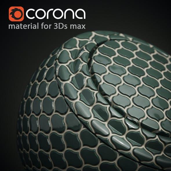 3Ds max Mosaic Tile Material  Corona render by Radetzki