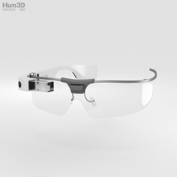 7379248c0d Google Glass Enterprise Edition White by humster3d