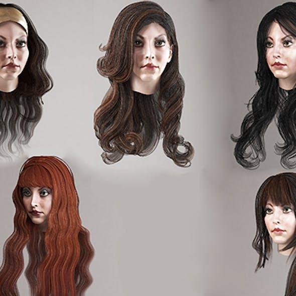 Haircut Cg Textures 3d Models From 3docean