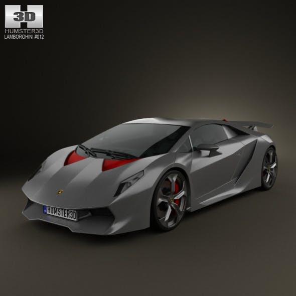 Lamborghini Sesto Elemento 2011 By Humster3d 3docean