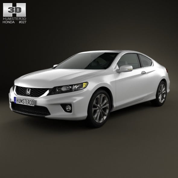 2013 Honda Accord Coupe For Sale >> Honda Accord Coupe 2013 By Humster3d 3docean